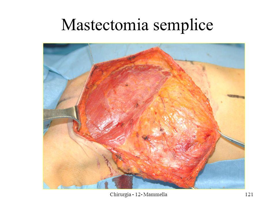 Mastectomia semplice Chirurgia - 12- Mammella