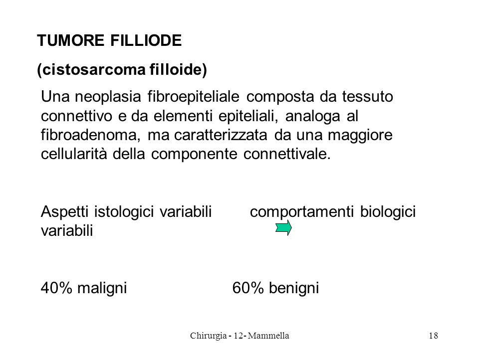 (cistosarcoma filloide)