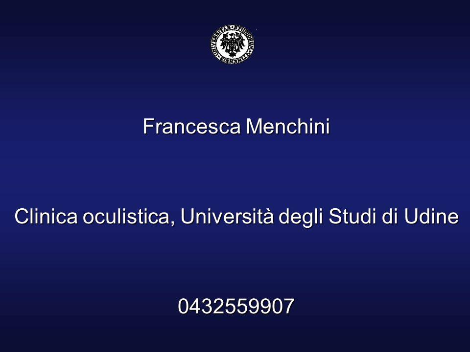 Clinica oculistica, Università degli Studi di Udine