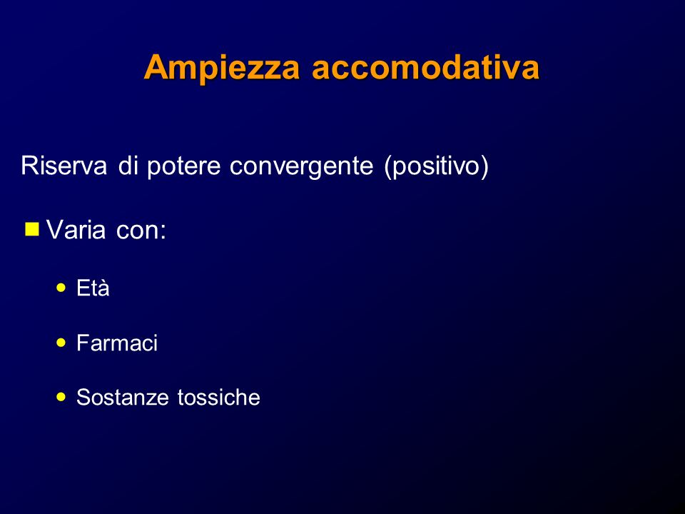 Ampiezza accomodativa