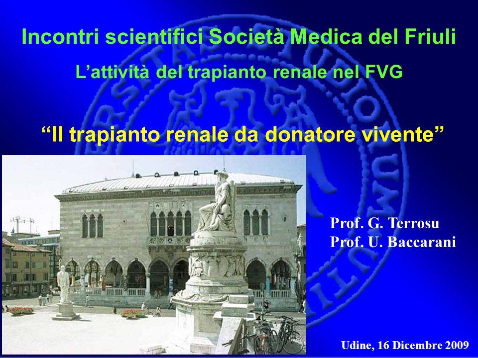 Incontri scientifici Società Medica del Friuli