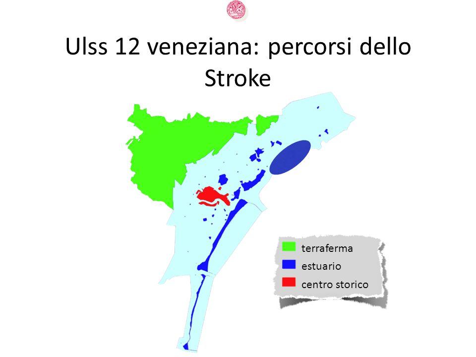 Ulss 12 veneziana: percorsi dello Stroke