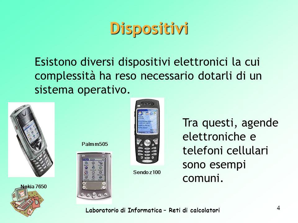 Laboratorio di Informatica – Reti di calcolatori