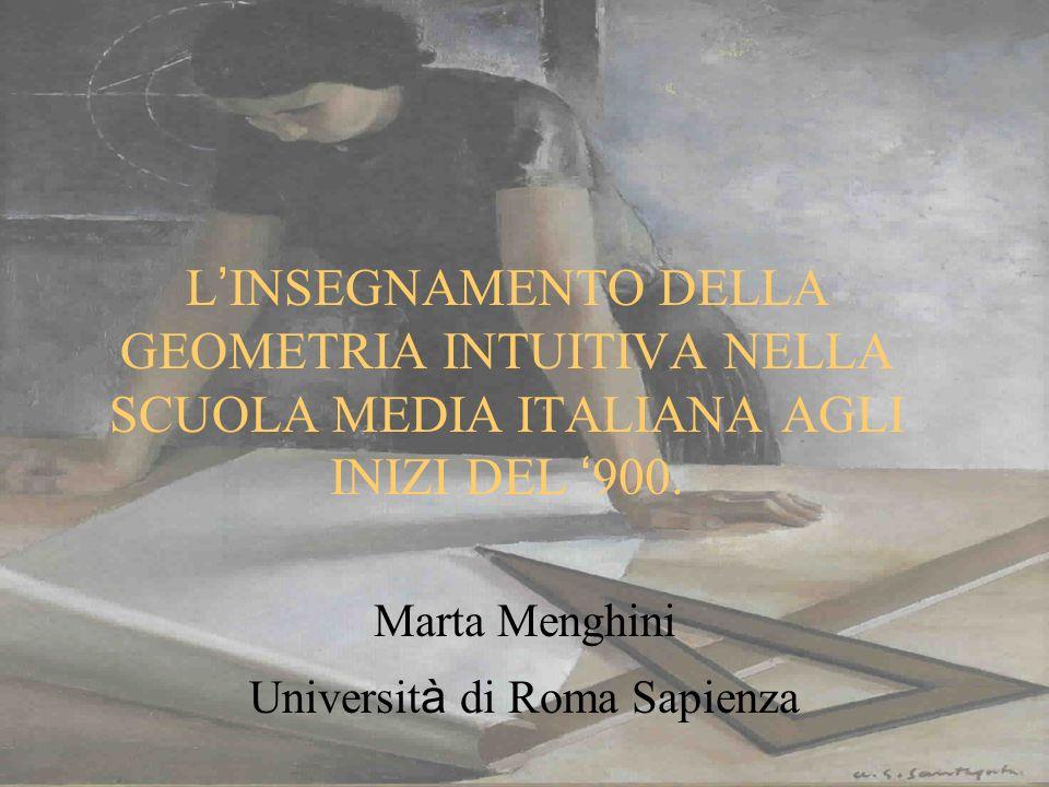 Marta Menghini Università di Roma Sapienza