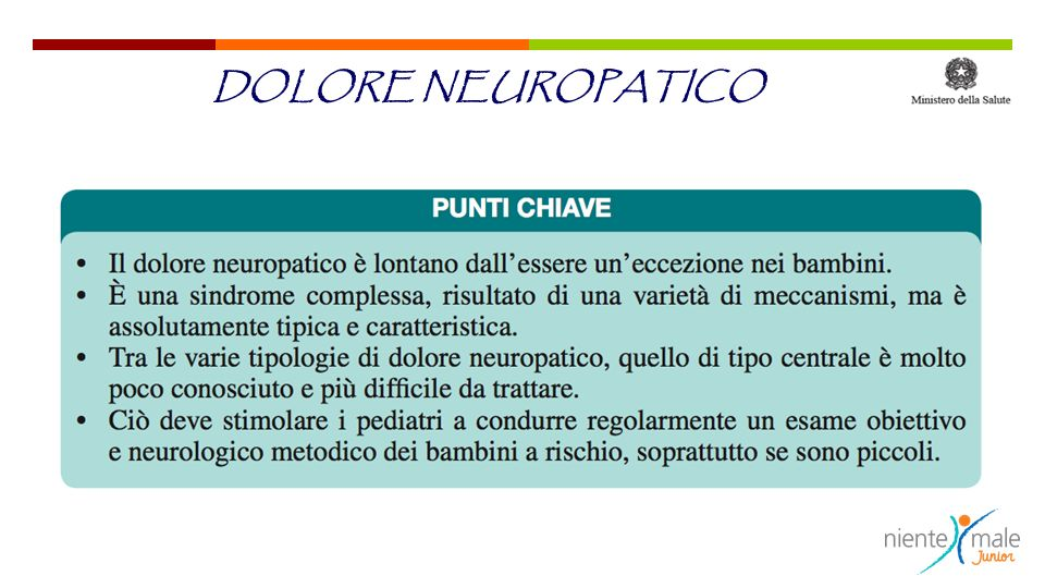 DOLORE NEUROPATICO
