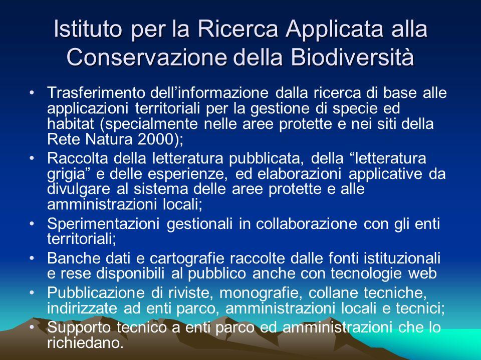Istituto per la Ricerca Applicata alla Conservazione della Biodiversità