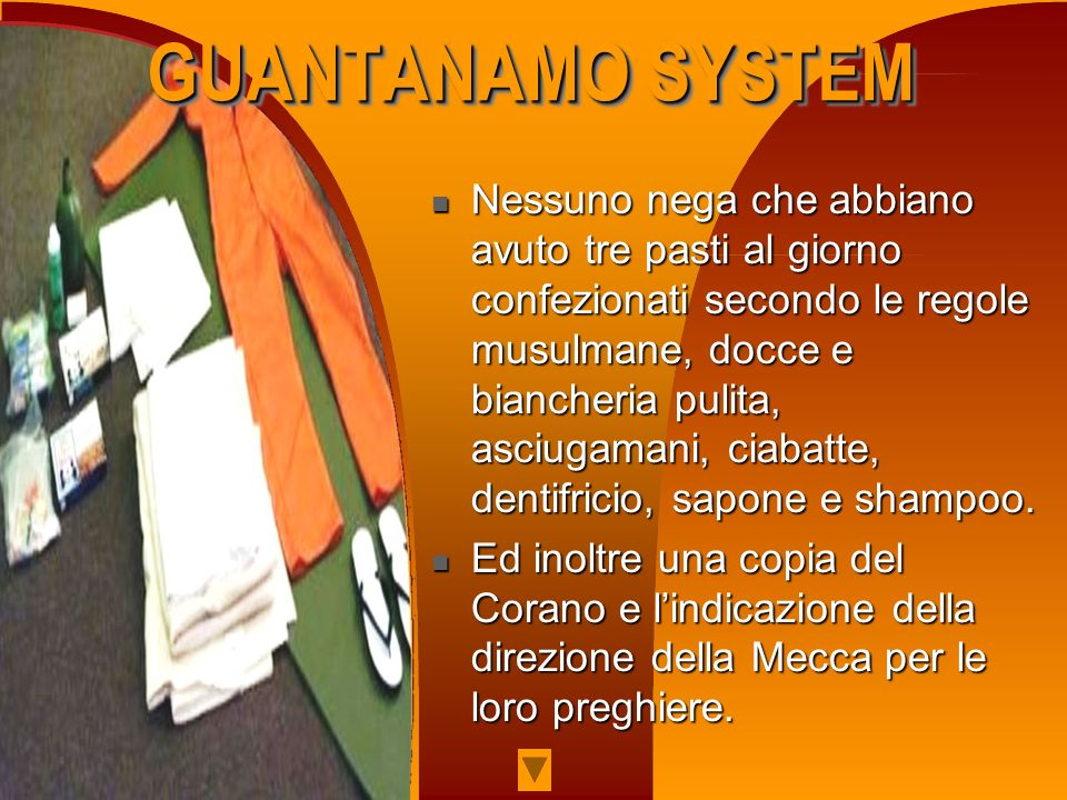 GUANTANAMO SYSTEM