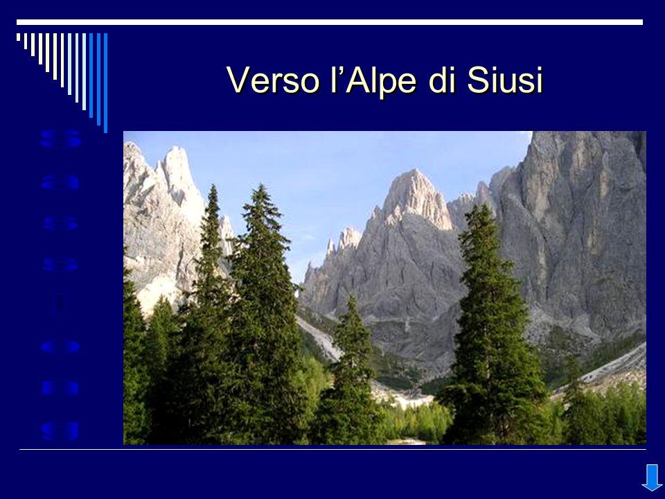 Verso l'Alpe di Siusi