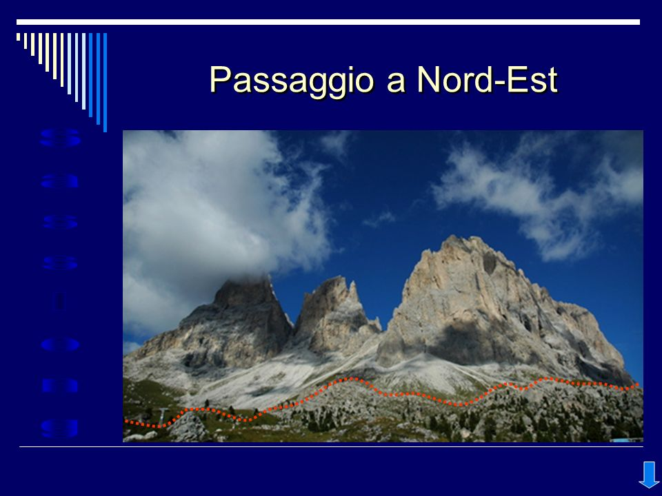 Passaggio a Nord-Est note
