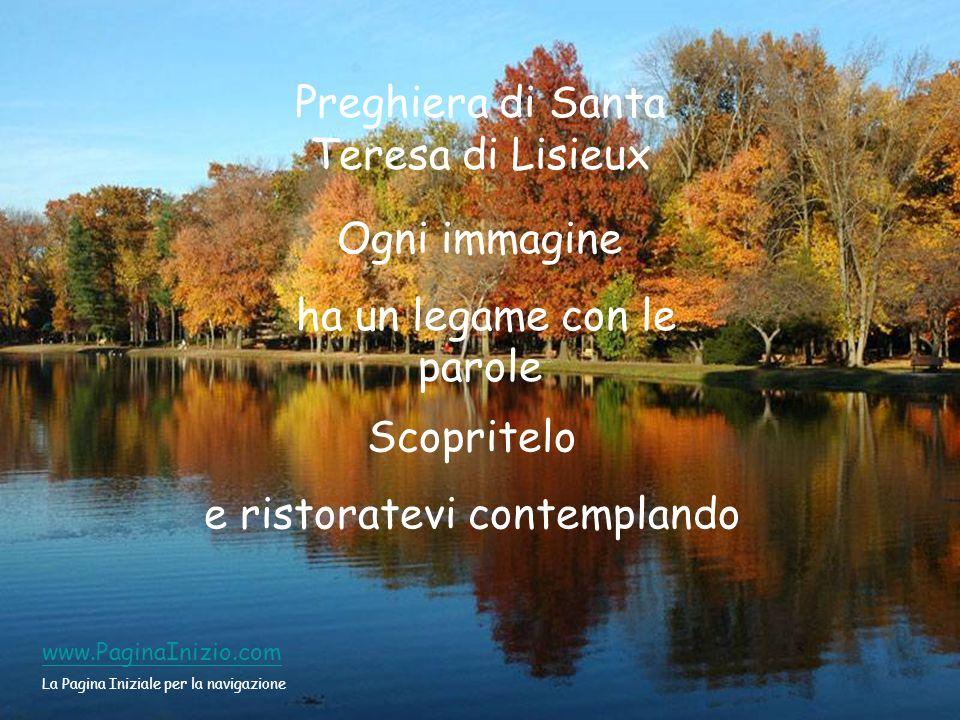 Preghiera di Santa Teresa di Lisieux