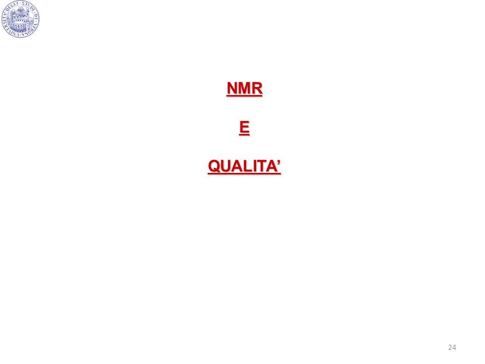 NMR E QUALITA'