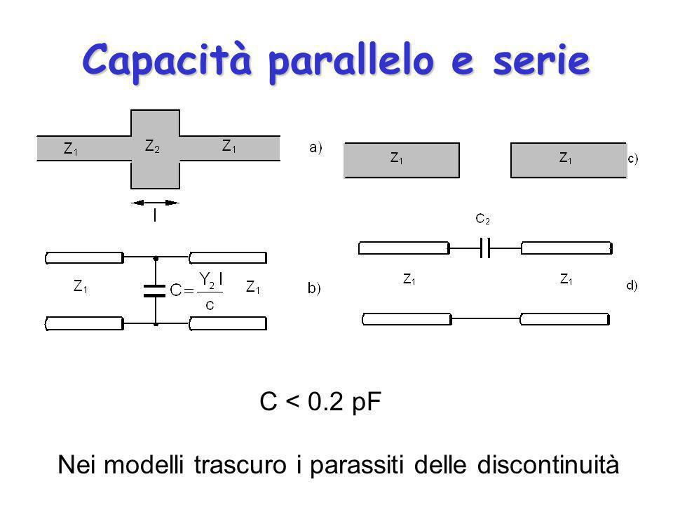 Capacità parallelo e serie