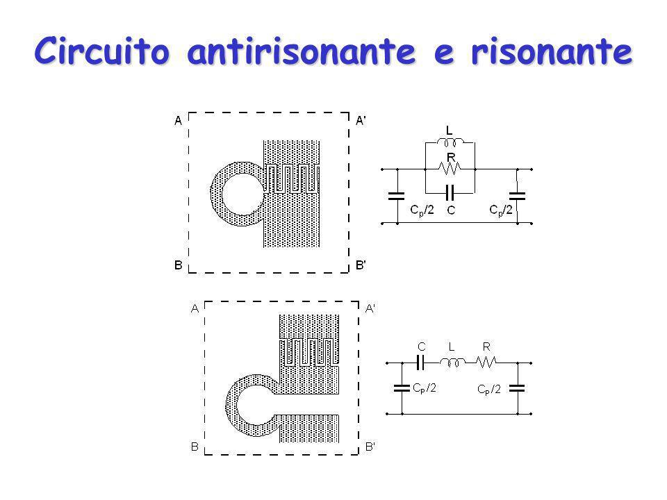 Circuito antirisonante e risonante