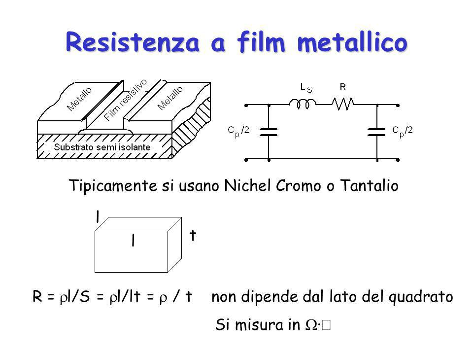 Resistenza a film metallico