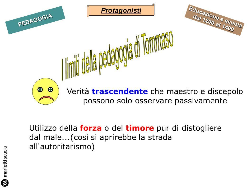 I limiti della pedagogia di Tommaso