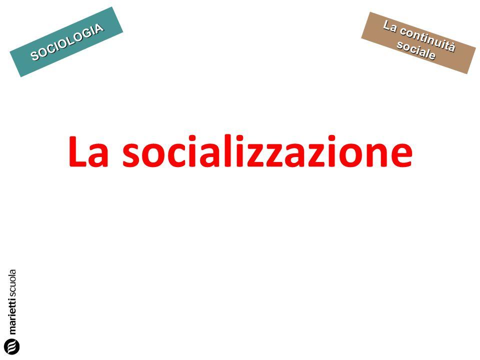 La socializzazione