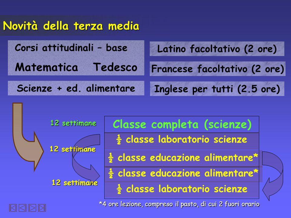 Classe completa (scienze)
