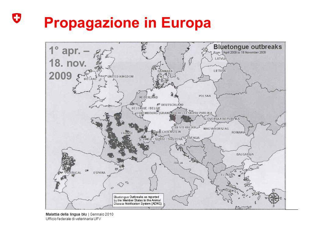 Propagazione in Europa