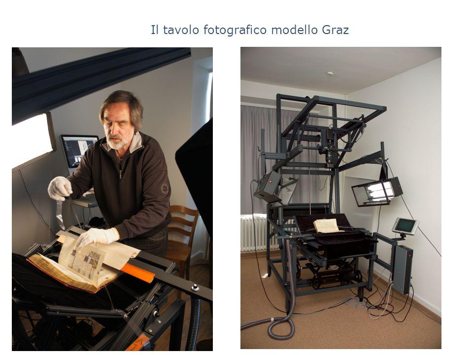 Il tavolo fotografico modello Graz