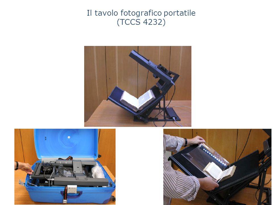 Il tavolo fotografico portatile