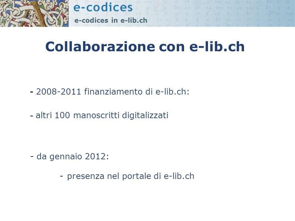 Collaborazione con e-lib.ch