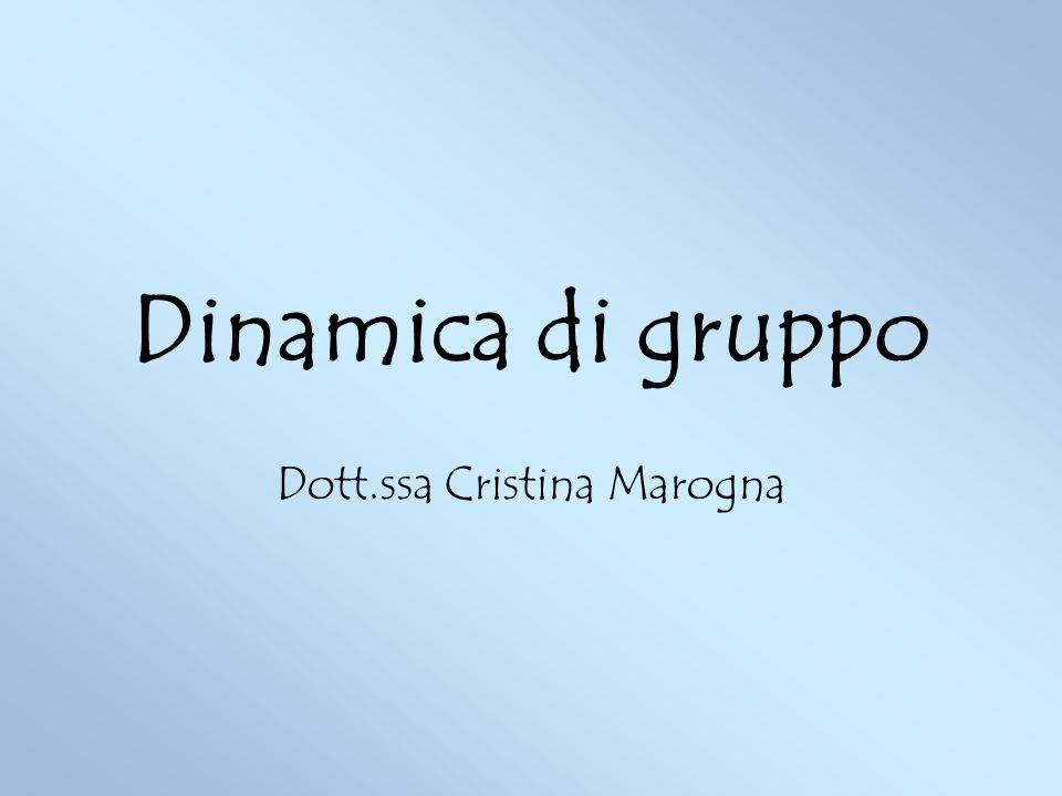 Dott.ssa Cristina Marogna