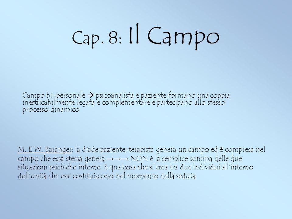 Cap. 8: Il Campo