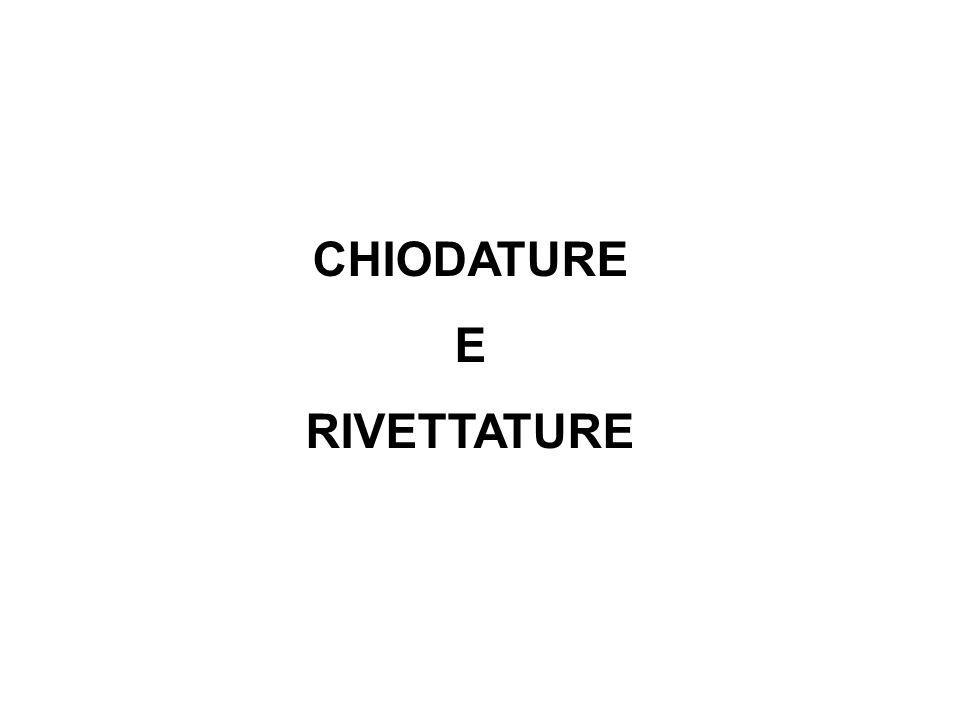 CHIODATURE E RIVETTATURE