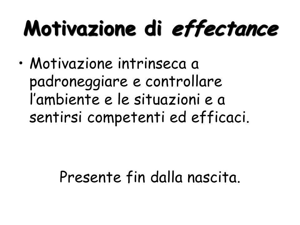 Motivazione di effectance