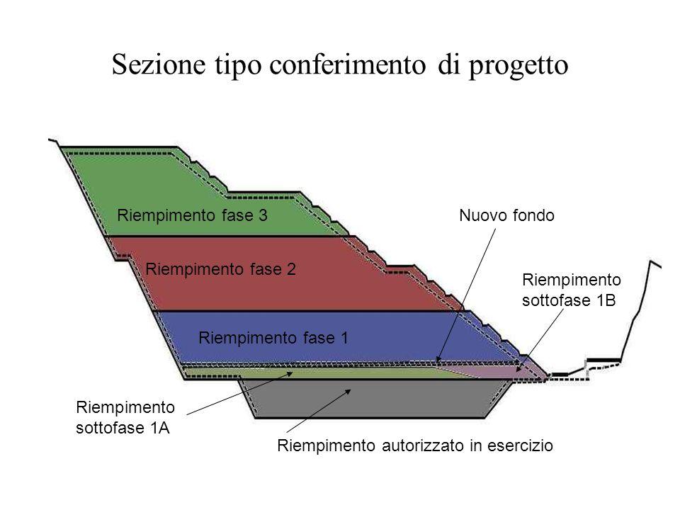 Sezione tipo conferimento di progetto