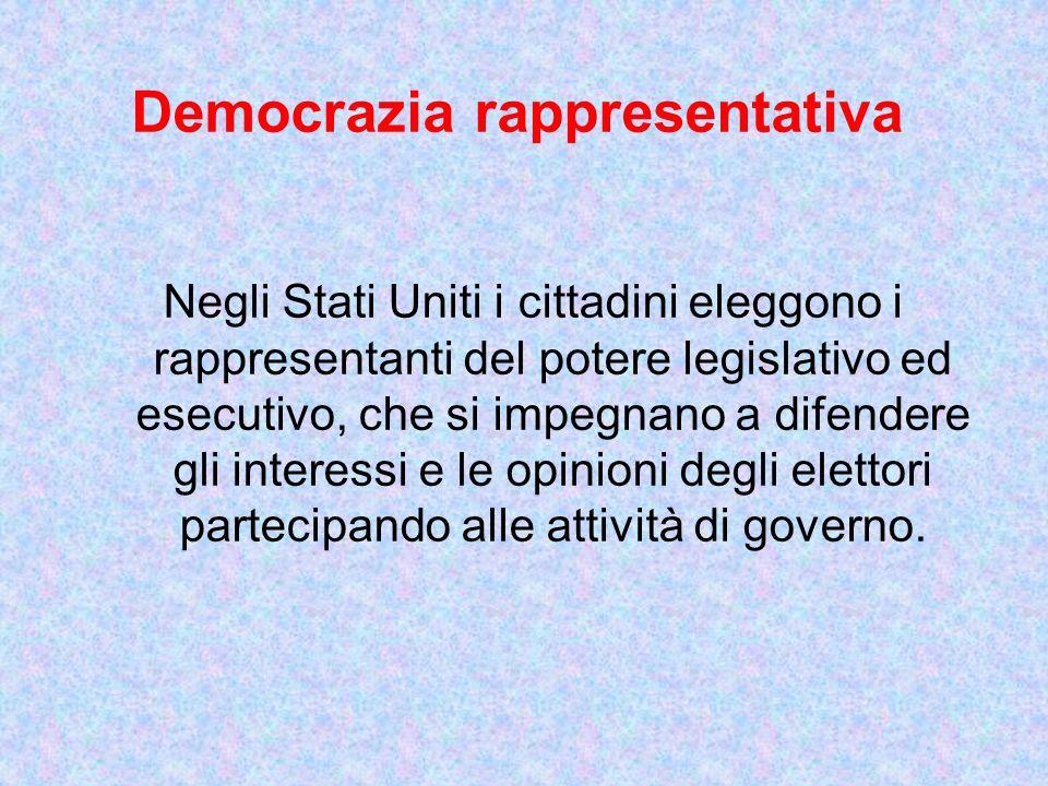 Democrazia rappresentativa