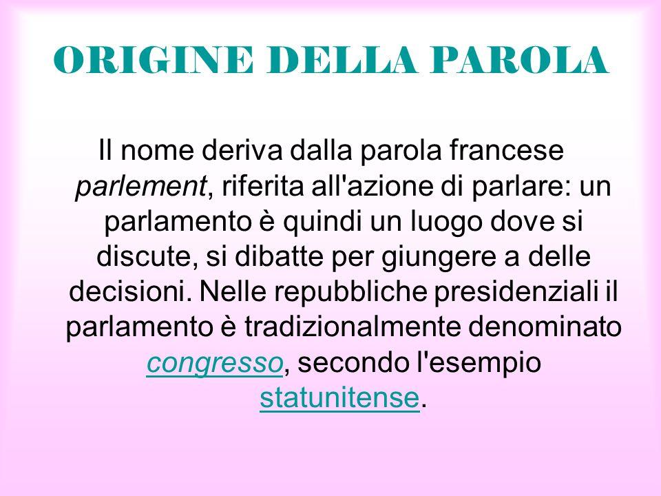 Il parlamento riccardo vanessa ppt scaricare for Dove si riunisce il parlamento italiano