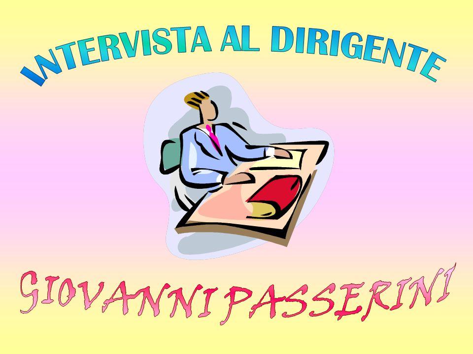 INTERVISTA AL DIRIGENTE