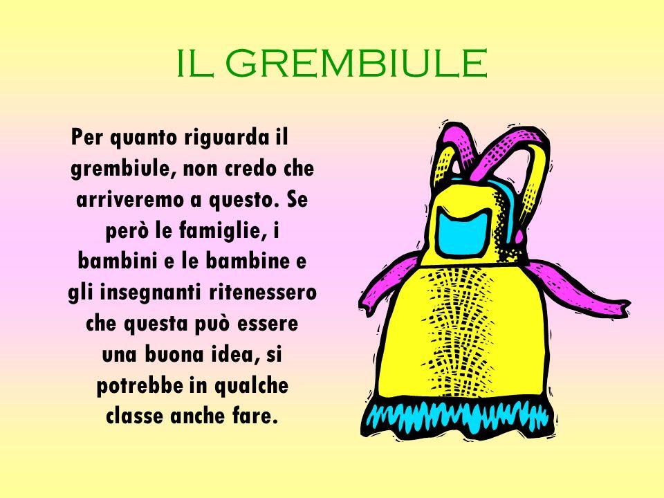 IL GREMBIULE