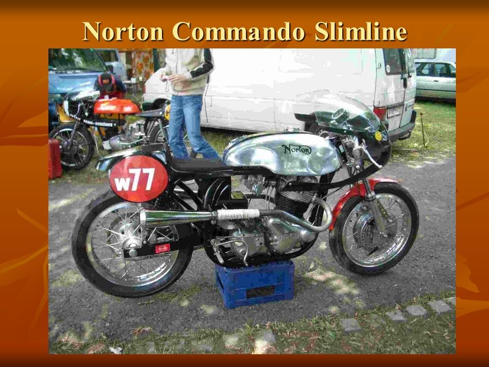 Norton Commando Slimline