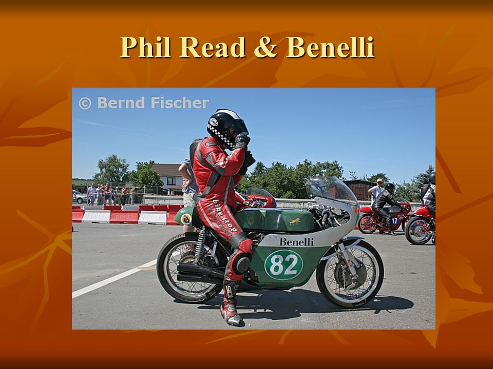 Phil Read & Benelli