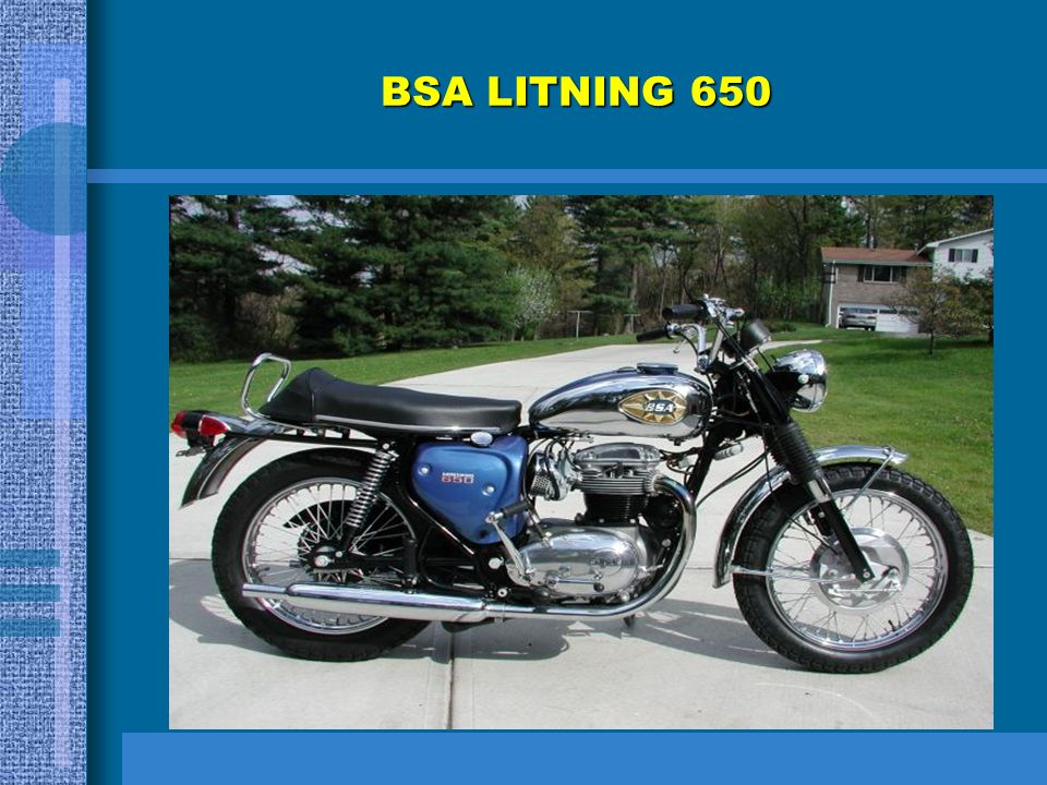 BSA LITNING 650