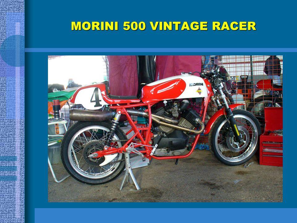 MORINI 500 VINTAGE RACER
