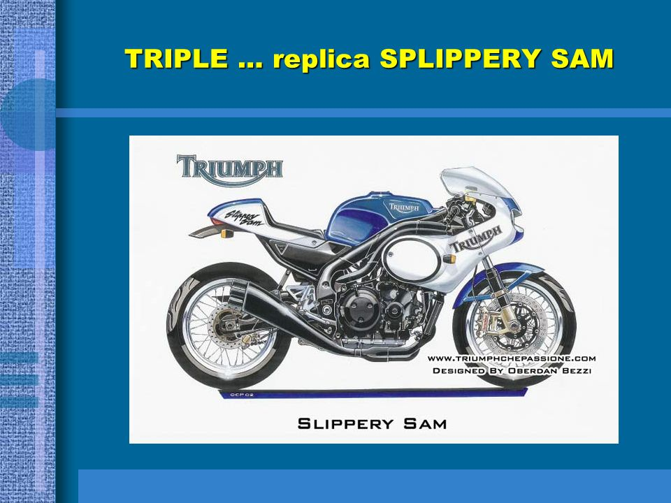 TRIPLE … replica SPLIPPERY SAM