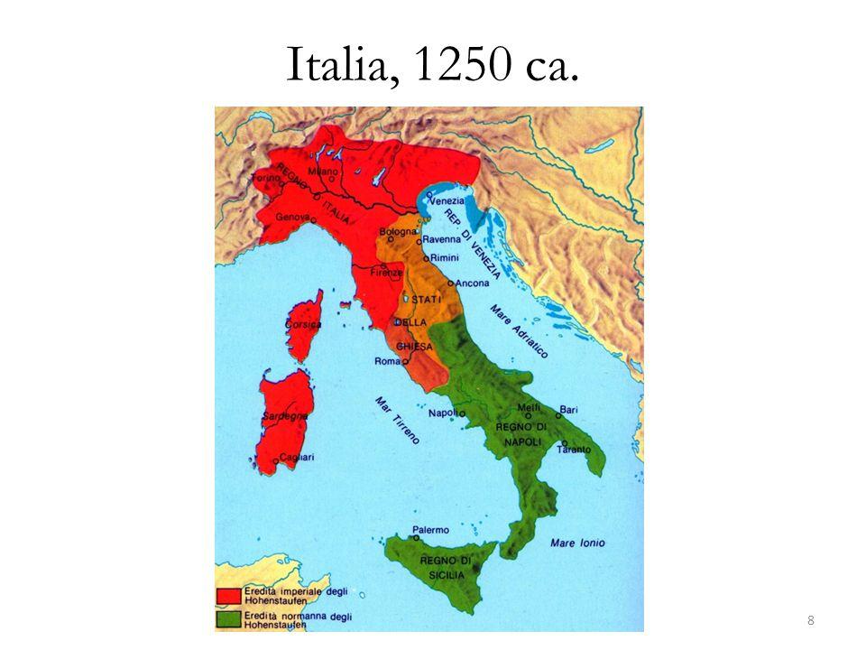Italia, 1250 ca.