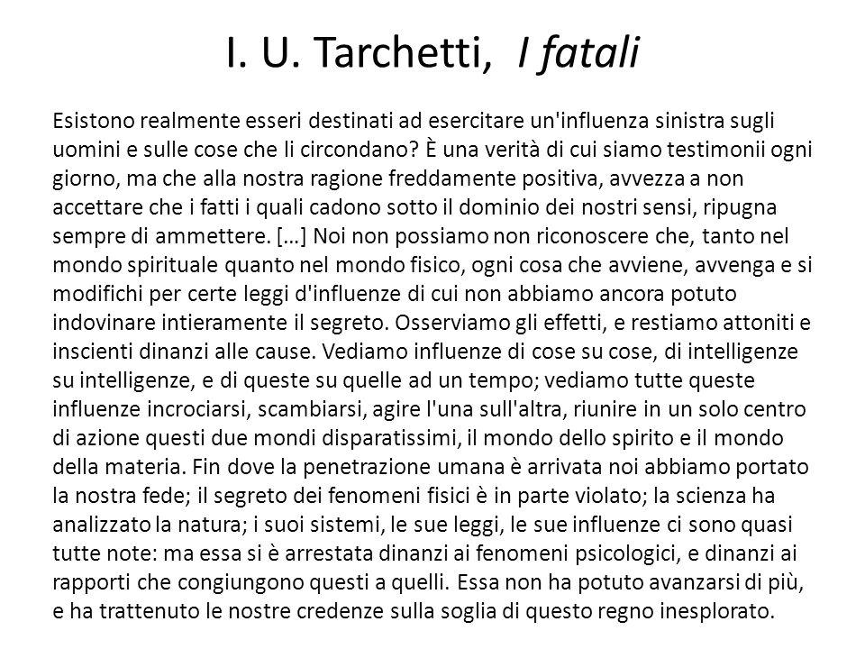 I. U. Tarchetti, I fatali