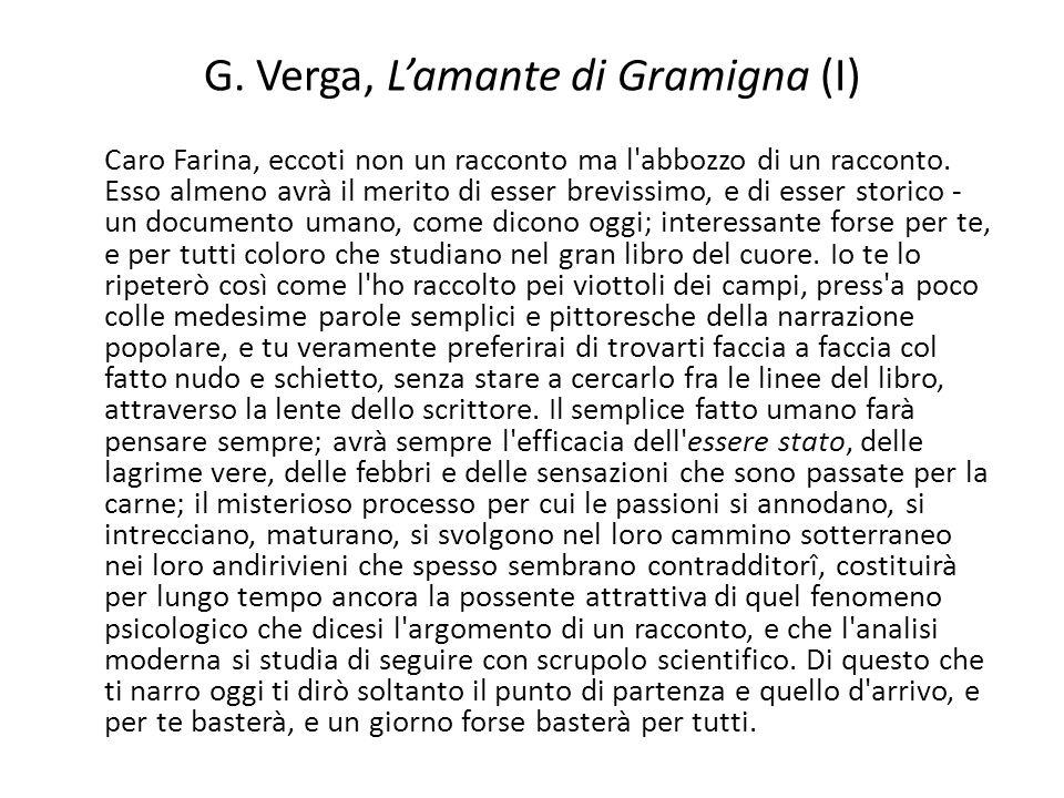 G. Verga, L'amante di Gramigna (I)