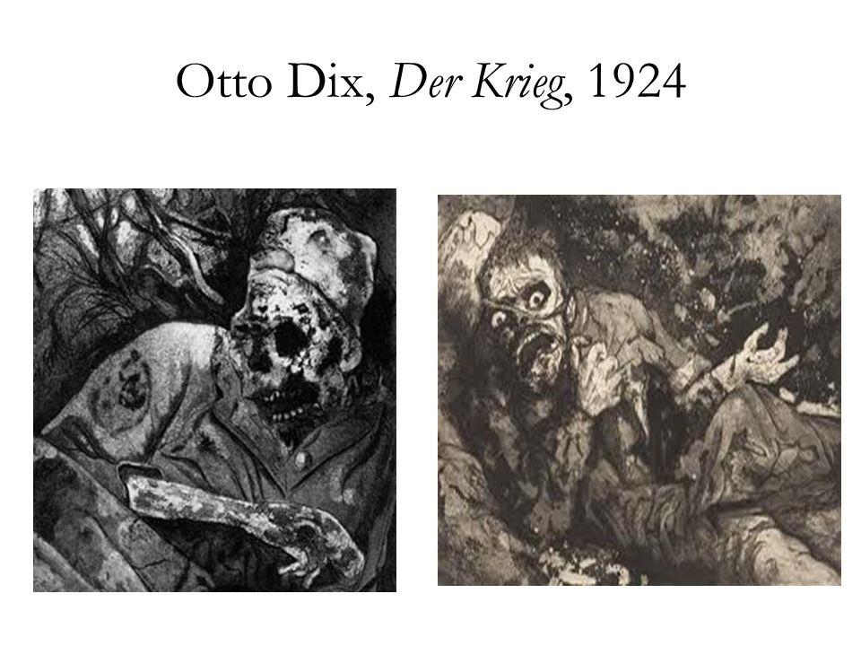 Otto Dix, Der Krieg, 1924