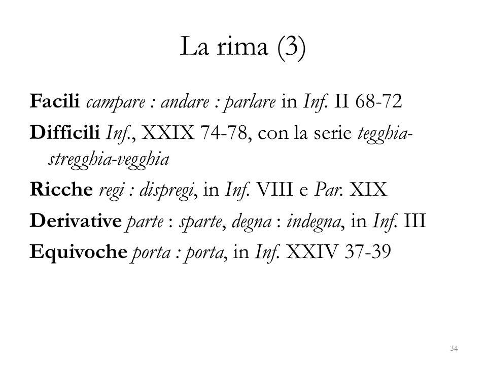 La rima (3)