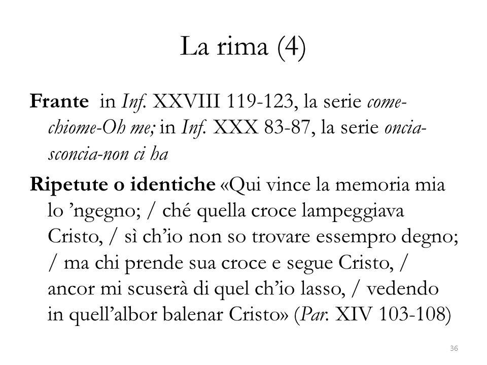 La rima (4)