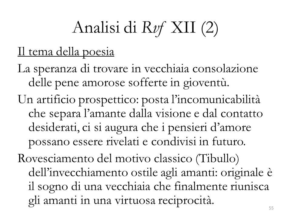 Analisi di Rvf XII (2)
