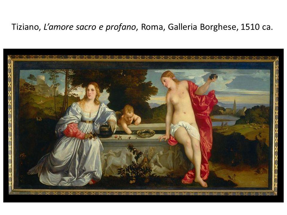 Tiziano, L'amore sacro e profano, Roma, Galleria Borghese, 1510 ca.