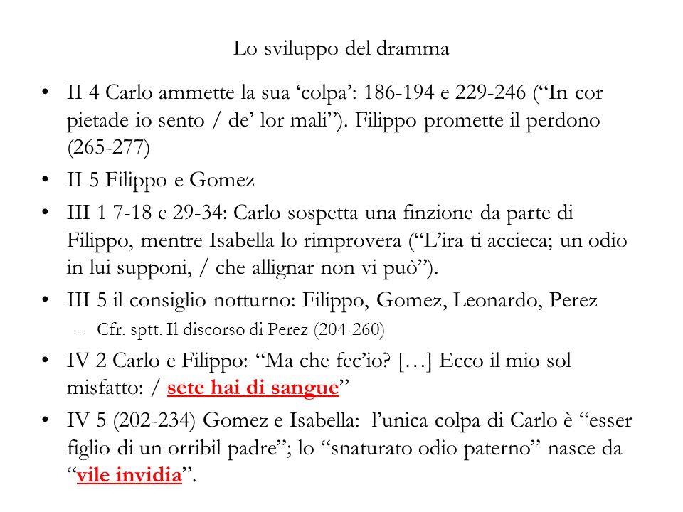 III 5 il consiglio notturno: Filippo, Gomez, Leonardo, Perez