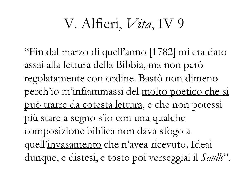 V. Alfieri, Vita, IV 9