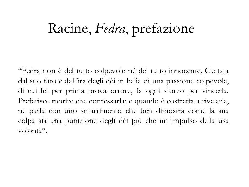 Racine, Fedra, prefazione